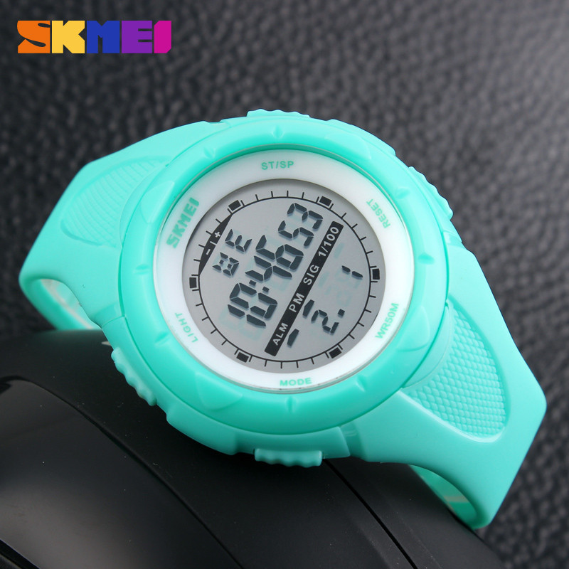 SKMEI Women Sports Watches Outdoor Sport Waterproof LED Kids Watch Military Multifunction Boy Girl Wristwatch montre