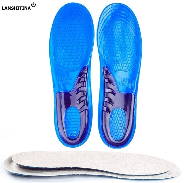 2019 Shoe Insole High Elastic Damping Silicone Gel Insoles For Shoes Soles Orthopedic Insoles Foot Pad