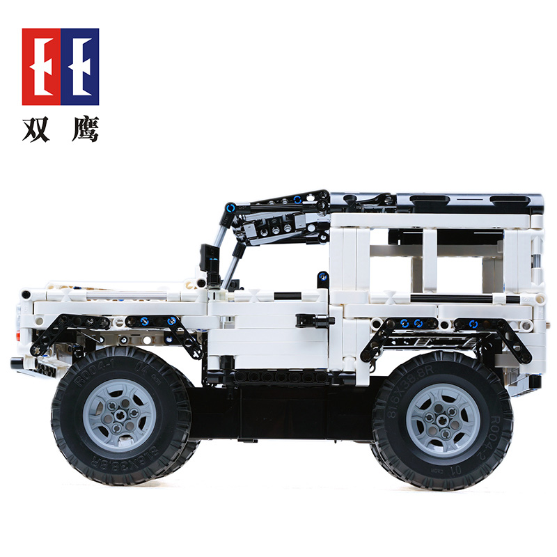 Technic Series Remote Control Land Rover building blocks DIY toy compatible with LegoINGLYS for Kid Educational Toy for Children