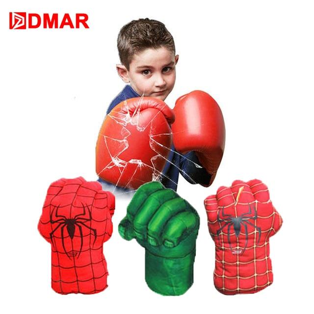 ce10bd8e3 DMAR 1 Pair Children Fighting Boxing Sports Gloves Spinderan Fight Box  Gloves Boxing Sanda Boxing Glove