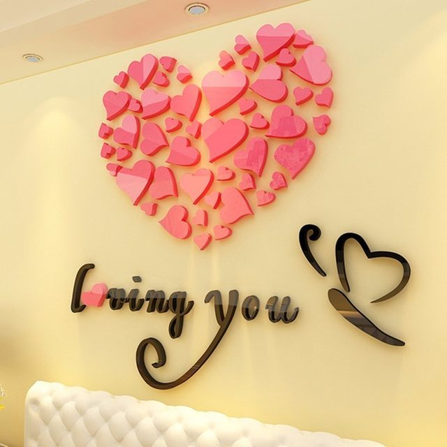 Perfect Heart Wall Decoration Elaboration - All About Wallart ...