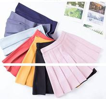 Pleated Skirts for Girls Gray Solid Color High Waist Child Toddler Petticoat High Quality Princess Ball Gown School Girl Skirts girls pleated skirt solid princess party pleated school skirts high quality soft plaid skirt girl child petticoat for 3 12 years