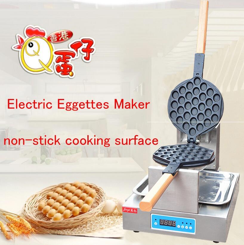 Electric Hong Kong Eggettes Maker non-stick cooking surface Egg Waffle Maker Bubble Egg Waffle  Machine FY-6E 1pc egg puff machine hk style egg waffle maker egg waffle iron bubble waffle wafer machine electric eggettes egg waffle maker