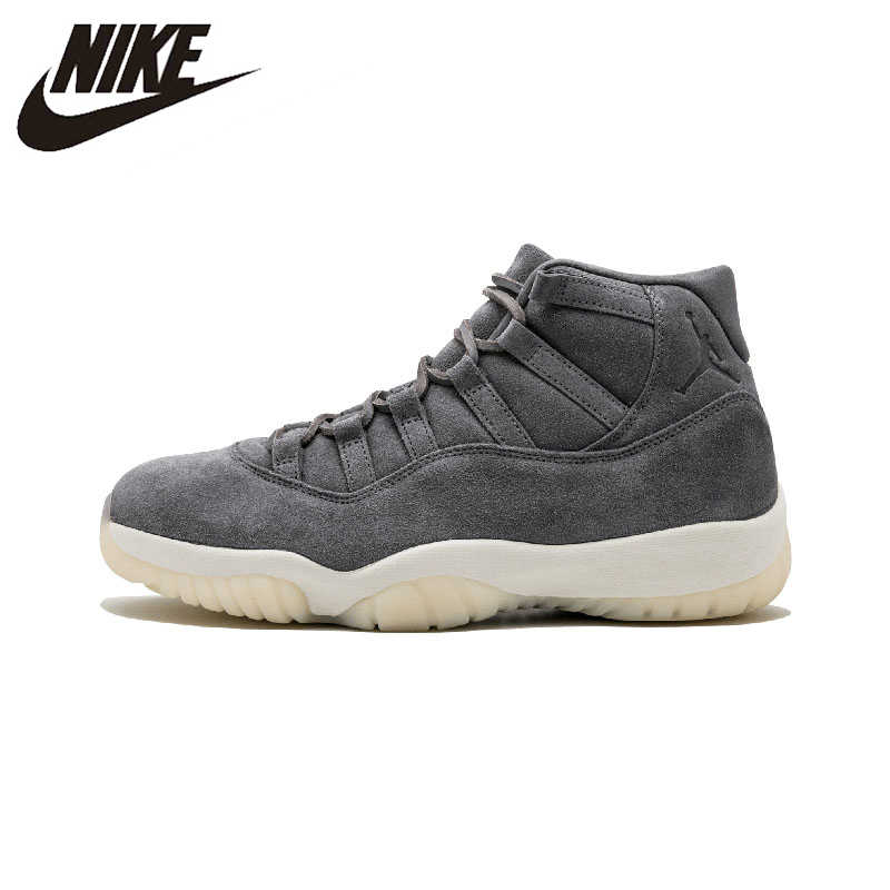 best service a4a66 83436 Original New Arrival Authentic NIKE Air Jordan 11 Retro PREM Pinnacle Mens  Basketball Shoes Sneakers Sport