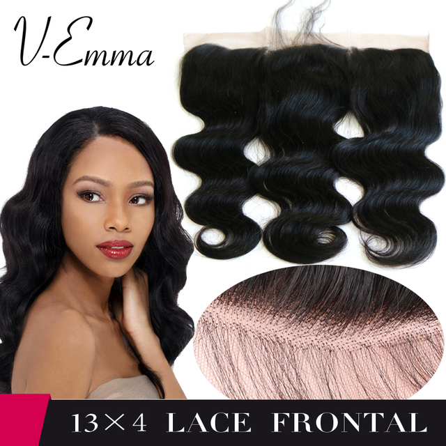 8A Brazilian Lace Frontal Closure 13x4 Virgin Human Hair ear to ear closure frontals with baby hair body wave frontal