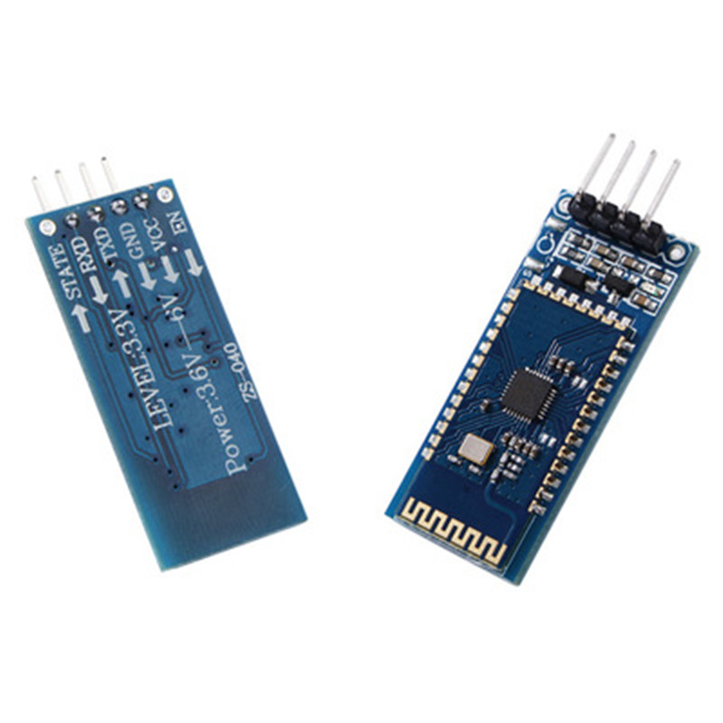 5Pcs SPP-C for Arduino Bluetooth Serial Port Wireless Data Module Compatible SPPC Bluetooth 2.1+EDR Replace HC-05 HC-06 AT BT06