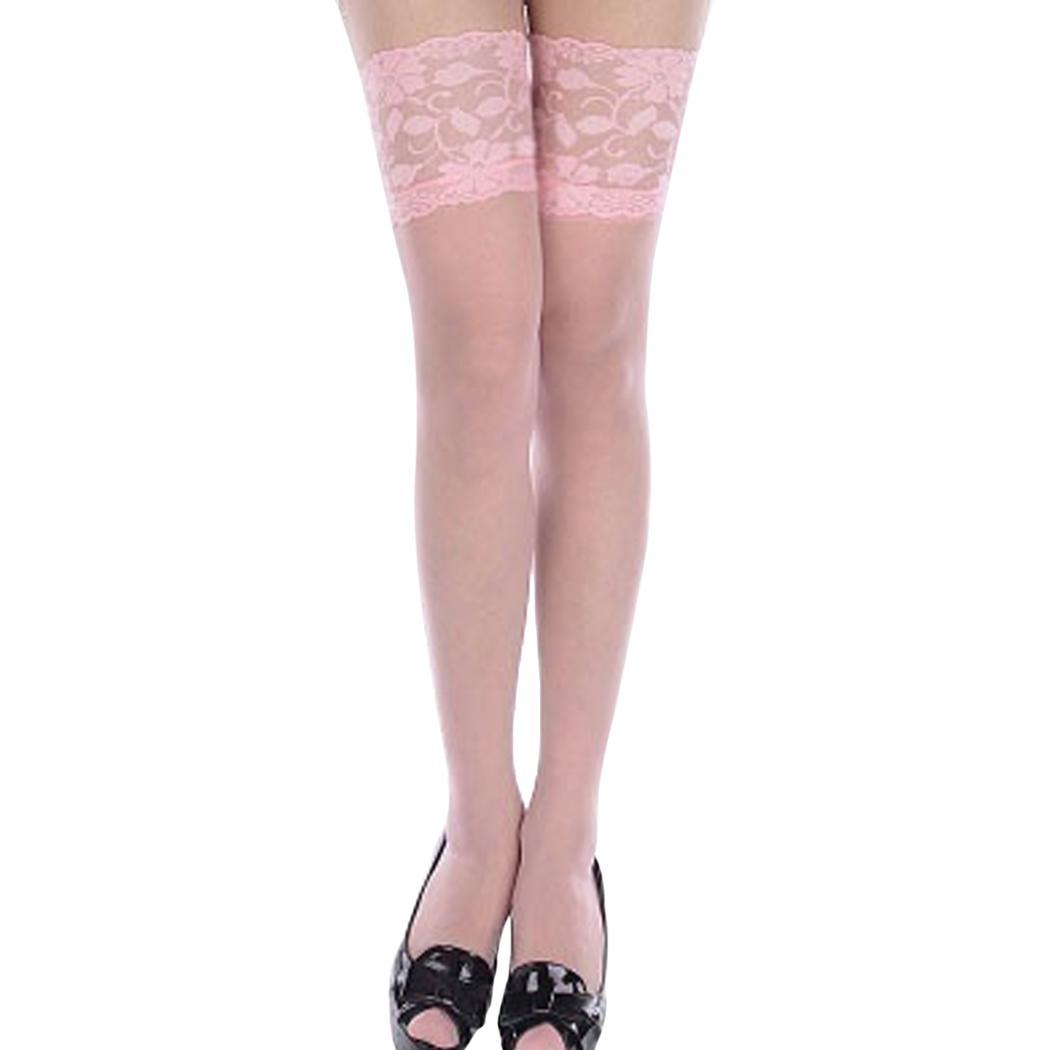 Mesh Sexy Lace Small Women Non Slip Long Socks Thigh High Stockings