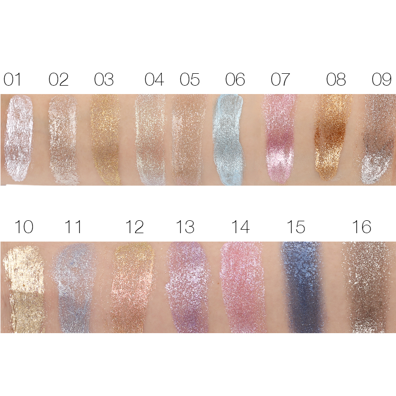 shise  LOVE ALPHA 3D Glitter Eyeshaow Gel Metallic Powder Pigment Make-up 5 Choice Fragrance Cream Highlighter Shining Maquiagem Palette HTB1YixLRXXXXXbqXVXXq6xXFXXXv