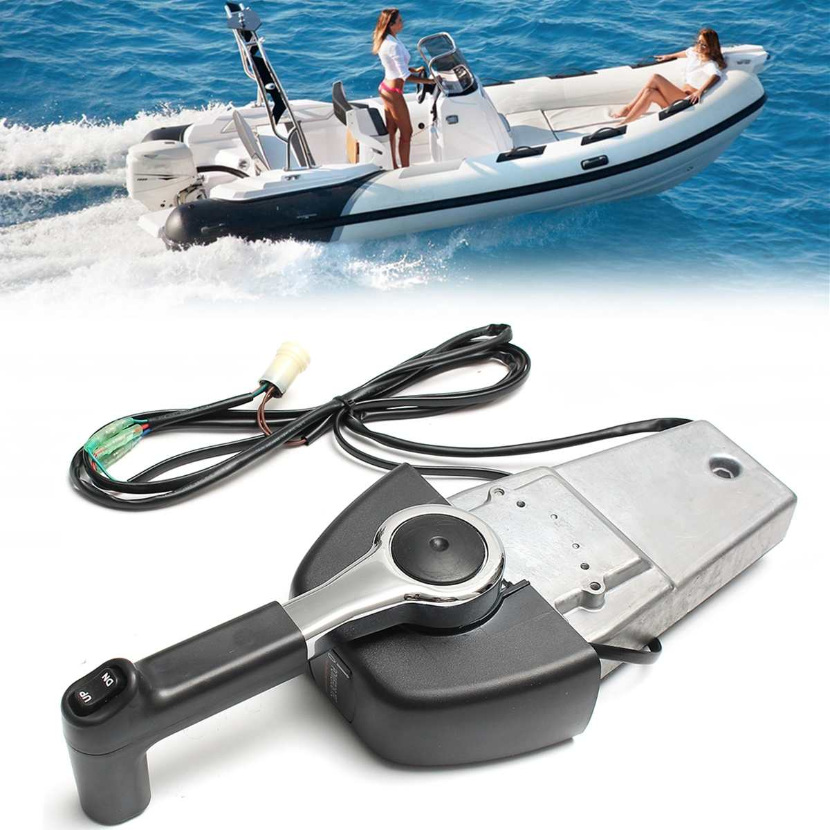 For Electric Start Yamaha Outboards Boat Outboard Remote Control Box 704 Premium Single Binnacle Control Streamlined Appearance