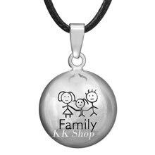 10N14NB230 10 PCS/lot cuivre métal bola famille grossesse pendentif ventre carillon collier ange appelant en gros