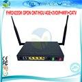 FHR-2422GK GPON ONT/HGU 4GE + 2 VOIP + WI-FI + Tx 1310nm CATV ОНТ Rx1490nm IEEE802.11b/g/n 300 Мбит Встроенной Антенной