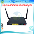 FHR-2422GK GPON ONT/HGU 4GE 2 VOIP + WIFI + Tx 1310nm CATV ONT Rx1490nm IEEE802.11b/g/n 300 Mbps Antena Incorporada