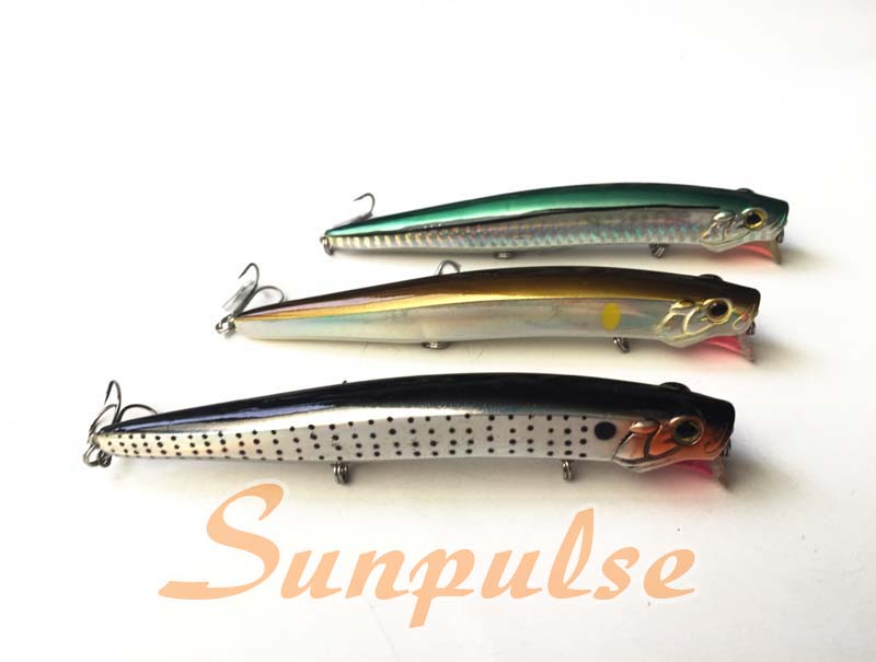 Cheap Promotional Fishing Lure Popper Bait Tackle Minnow