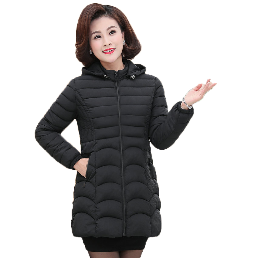 9557dfa6313 Woman Lightweight Puffer Jacket Red Green Black Puff Basic Coat Women  Casual Hooded Parkas Plus Size Quilted Overcoat Pad Parkas