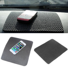 Car Dashboard Sticky Pad Mat Anti Non Slip Gadget Mobile Phone GPS Holder Interior Items Accessories