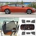 Магнитный солнцезащитный козырек для Nissan teana  боковое стекло для автомобиля  защита от УФ лучей  сетчатый козырек  Аксессуары для штор