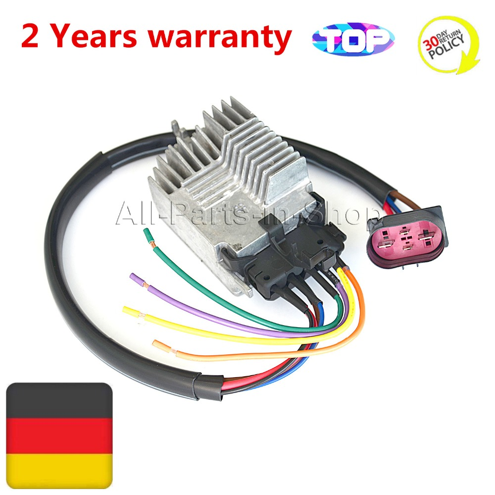 8E0959501AG RADIATOR FAN CONTROL UNIT MODULE For AUDI A4 A6 Quattro CABRIO 8E0959501G 8E0959501K 8E0959501AB 1137328464 radiator cooling fan computer for ford focus 2 mazda 3 fan speed control unit module 1 137 328 464