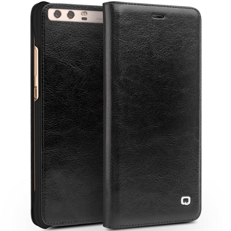 QIALINO BARU Kasus untuk Huawei Ascend P10 ditambah Mewah Kulit Asli - Aksesori dan suku cadang ponsel - Foto 6