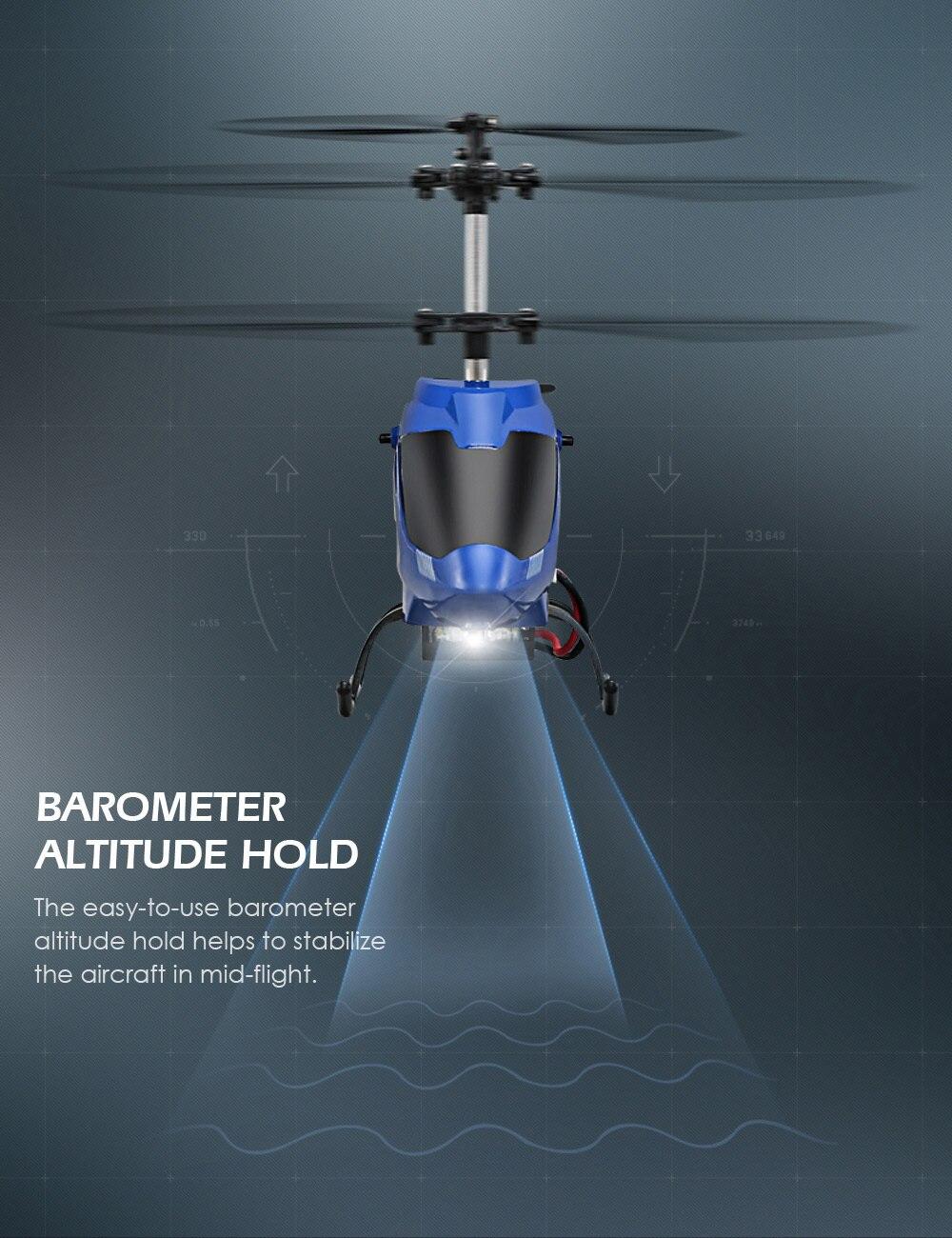 ヘリコプターバロメーター高度ホールドと強力なパワーアルミ合金建設ラジオコントロール Honnomushi.com Ngultrum 今週の割引 4