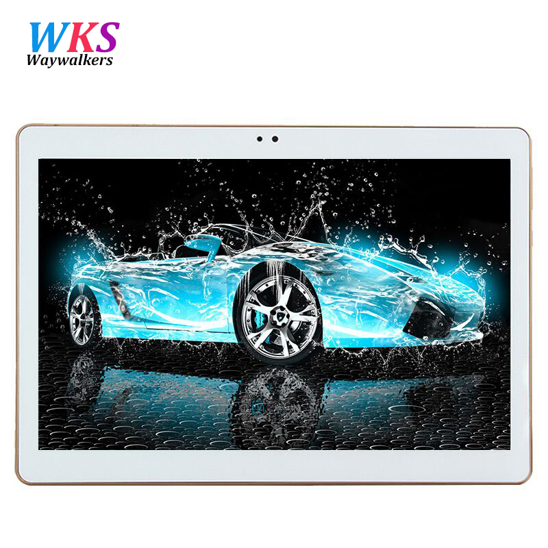 Waywalker 10.1 inch tablet pc computer Octa Core T805C Android 5.1 Tablet Pcs 3G 4G LTE mobile phone Ram 4GB Rom 64GB 5MP IPS
