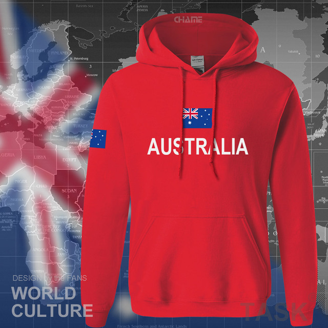 Commonwealth of Australia hoodie men sweatshirt sweat new streetwear clothing jerseys tracksuit 2017 nation Australians flag AU 3