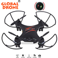 Global drone quadrocopter gw009c 2.4g 4ch mini drone con cámara con cámara rc helicóptero drone helicoptero de controle remoto