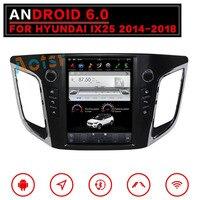 4 ядра 10,4 Android 6,0 автомобилей Радио gps навигации для HYUNDAI IX25 CRETA 2014 2015 2016 2017 2018 нет DVD/CD плеер головного устройства