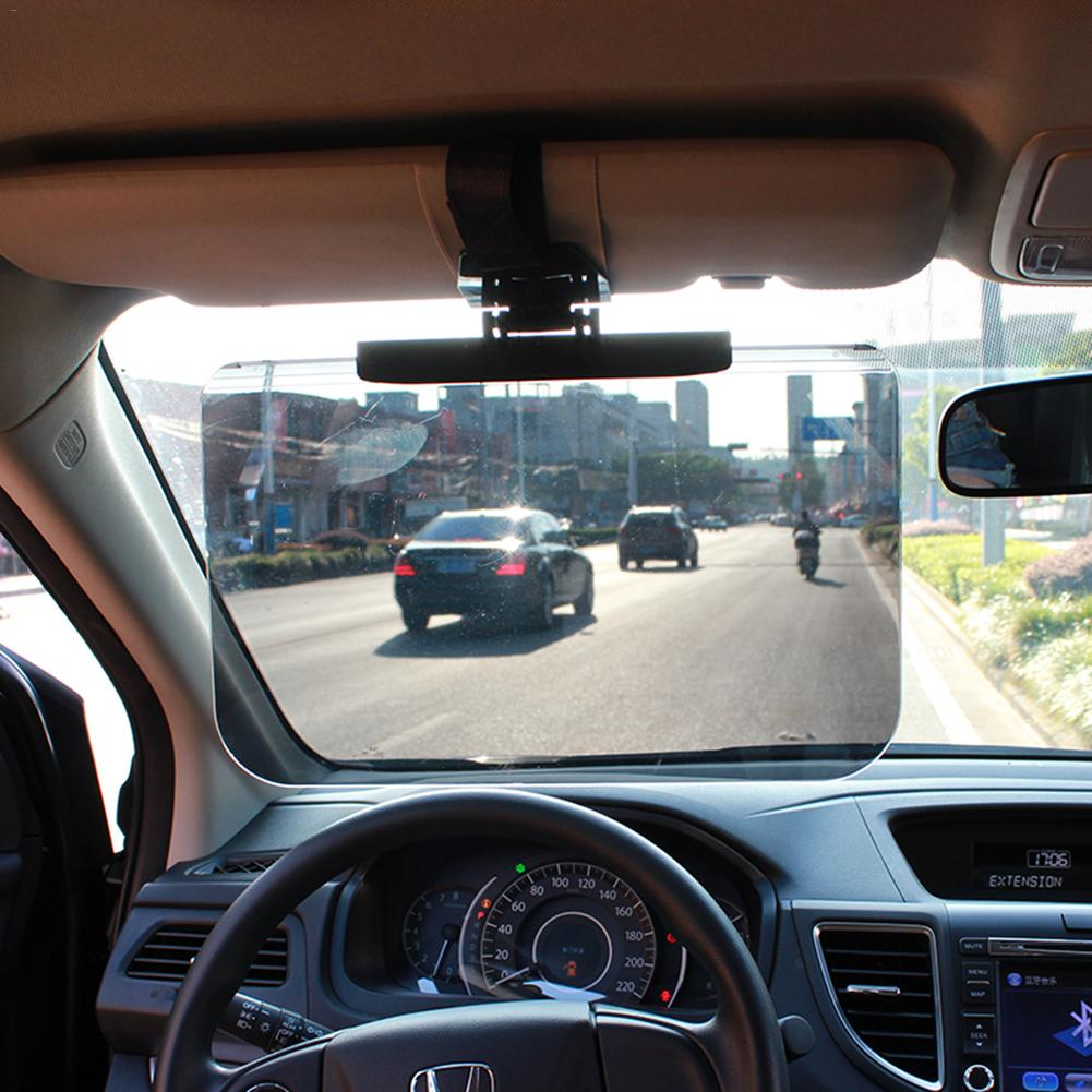 Image 4 - Car Sun Shade Day Night Driving Goggles Visors Sunglasses Shield Sun Visor Window Film pare soleil voiture autos parasol coche-in Sun Visors from Automobiles & Motorcycles