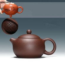 New 280ml Authentic Yixing Teapot Master Handmade Chinese Health Purple Clay Kung Fu Tea Set Xi Shi Pot Multi-style Selection