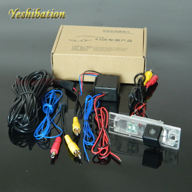 Yeshibation Reversing Park Camera Power Relay Filter For BMW 6 M6 E63 E64 Wide Angle Lens Rearview Back Up Camera
