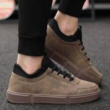 Летние мужские кроссовки, Повседневная Классическая обувь, кожаная мужская обувь на шнуровке, удобная обувь на плоской подошве, большие размеры, уличные кроссовки