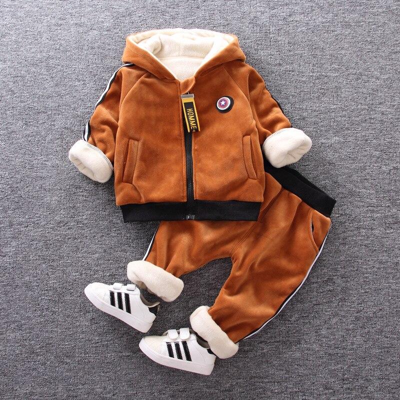 Willensstark Baby Jungen Winter Kleidung Set Neugeborenen Baby 2 Stücke Casual Jungen Sport Anzüge Kleinkind Trainingsanzüge Kostüm Für Jungen Infant Set Kleidung Sets Jungen Kleidung