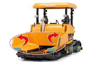 Image 2 - Simulation 1:40 Engineering Alloy Paver Paving Asphalt Highway Construction Car Vehicle Model Decoration Kid Toys Free Shipping