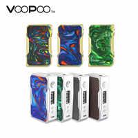 100% Cigarette électronique Mod Original 157 W VOOPOO glisser TC boîte MOD avec puce génique et vitesse de feu la plus rapide 0.025 s pas de batterie 18650