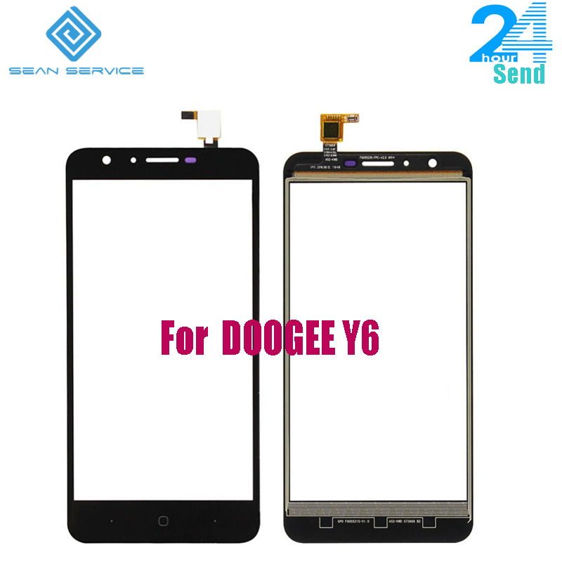 For Original DOOGEE Y6 Original Sensor Touch Screen Perfect Repair Parts Touch Panel For DOOGEE Y6 +tools 5.5