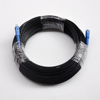 200M FTTH Fiber Optic Drop Cable Patch Cord SC to SC Simplex SM SC SC 200 Meters Drop Cable Patch Cord