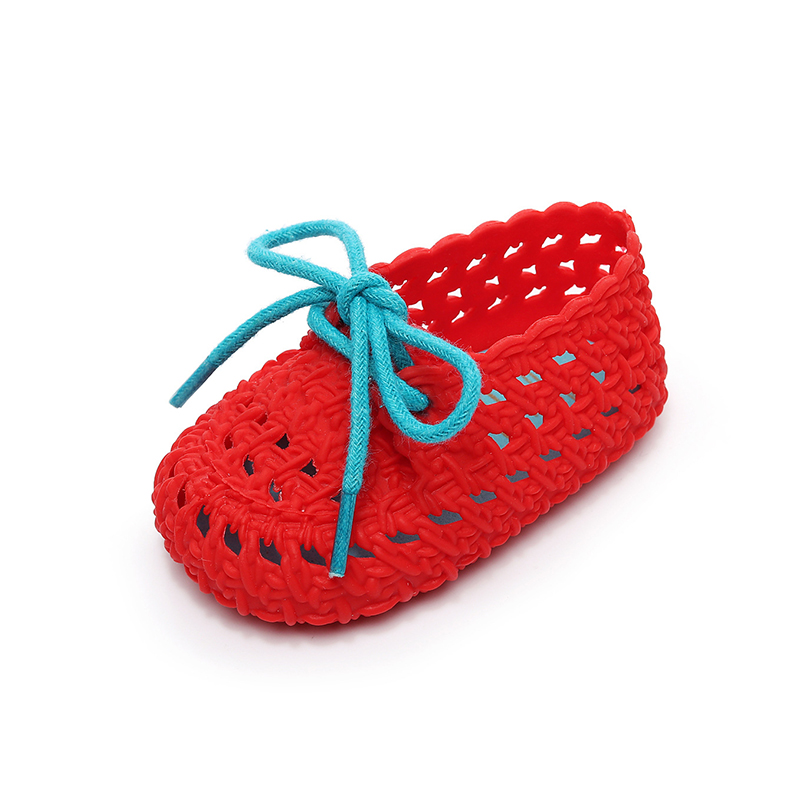 Childrens jelly shoes soft bottom non-slip comfort minised baby sandals summer girls boys shoes 1-2 years old toddler shoes