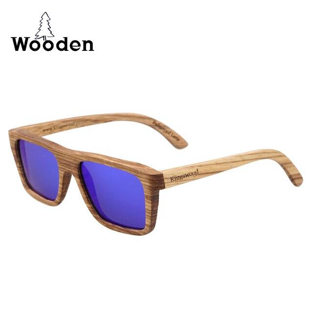 Flat Top Super Vintage óculos homens de madeira elegante óculos de sol das  mulheres ao ar d7e093d888