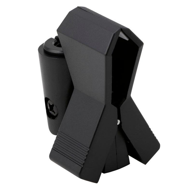Treu Flexible Mikrofon Mic Ständer Zubehör Kunststoff Clamp Clip Halter Halterung Schwarz-27 #/cc Hohe Belastbarkeit Heimelektronik Zubehör