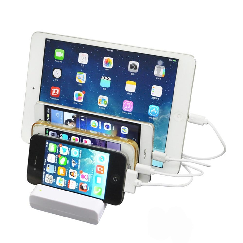 multi device 5v 4 port usb charging station for. Black Bedroom Furniture Sets. Home Design Ideas