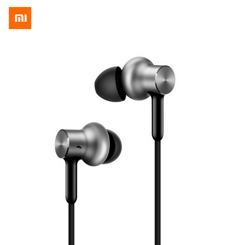 Newest Original Xiaomi Hybrid Pro HD In Stock Earphone with Mic Remote Headset for Xiaomi Redmi Red Mi Mobile Phone In-Ear цена 2017