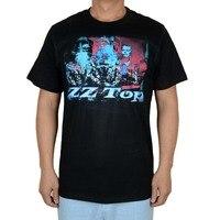 Envío libre Foto de Grupo ZZ TOP Negro Logo rock 100% algodón nueva Camiseta