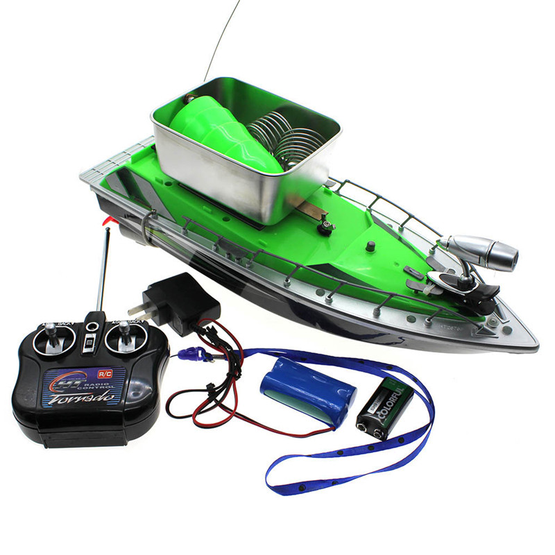 60M 8Hours Remote Control RC Radio Bait Fish Finder Fishing Nest Lure Boat Ship mini fast electric fishing bait boat 300m remote control 500g lure fish finder feeder boat usb rechargeable 8hours 9600mah