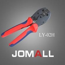 Купить с кэшбэком LY-02H crimping tool crimping plier 2 multi tool tools hands LY Ratchet Crimping Plier (European Style)