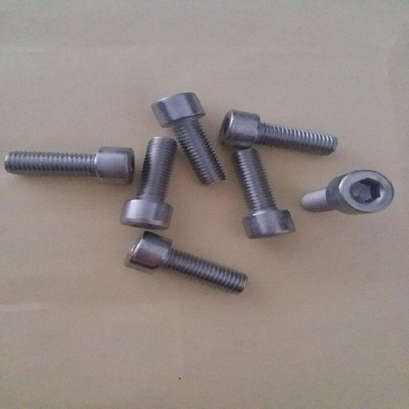 5 Pcs Gratis Levering 304 Roestvrij Staal Cup Hoofd/cilindrische Head Hexagon Socket Schroef M7 * 1.0*20