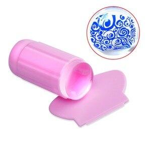 Image 2 - Biutee estampador de silicona transparente para uñas, conjunto de rascador de estampación de uñas de gel transparente, herramienta de plantilla de manicura para transferencia de esmalte