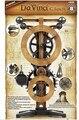 Máquinas Academy 18150 Leonardo Da Vinci série relógio modelo de educação Kit frete grátis