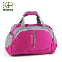 K D Terylene Waterproof Gym Sports Bag For Men Women Fitness Outdoor Sports Training Designer Woman