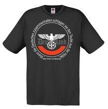 Лидер продаж 2018, летняя мужская футболка Furst von Bismarck Deutschland, рейхсадлер, хулиганс, немецкие Рейхи