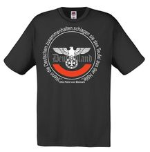 Camiseta masculina furst von bismarck, 2018, verão, hooligans, italic es reiches